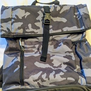 Nike backpack with shoe storage